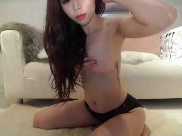Asian Girl Masturbating Webcam