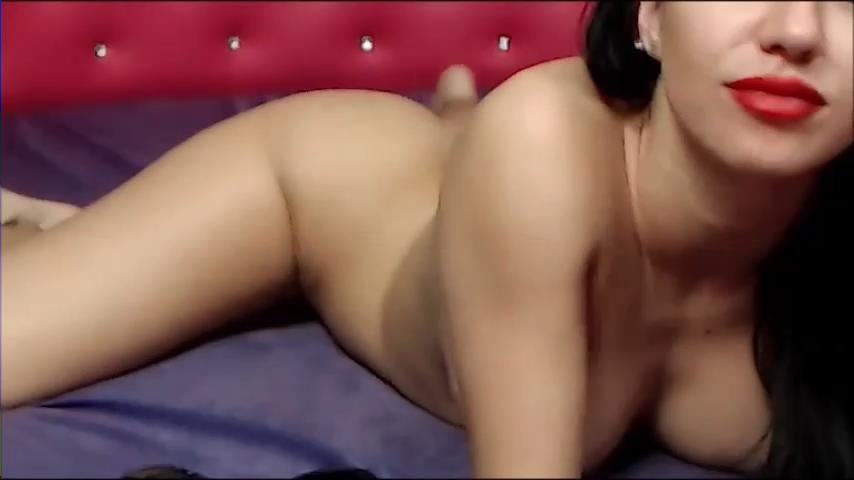 Jasmin FranceskAss naked on webcam