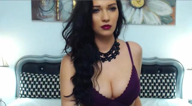 Busty brunette AbbyMoon